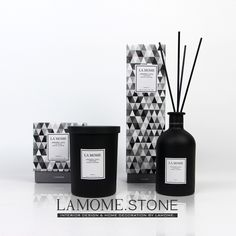 LAMOME.纯天然高端进口精油藤条香氛无火香薰蜡烛套装礼盒礼品-淘宝网