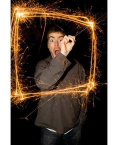 Pics with Sparklers!