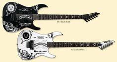 Ouija Board ESP (Kirk Hammet: Metallica)