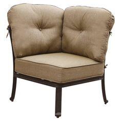 Outdoor Darlee Elisabeth Corner Sectional Patio Chair - DL705-5/105