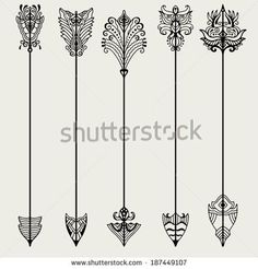tribal arrow tattoo designs - Google Search