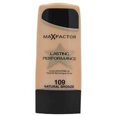 Max Factor Long Lasting Performance Foundation No109 Natural Bronze 11 Ounce >>> You can find out more details at the link of the image.