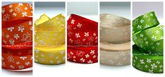 Quilted Ornaments, Ribbons, Bias Tape, Grinding