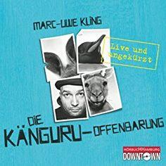 """Ein weiteres Hörbuch-Muss in meiner #AudibleApp: """"Die Känguru-Offenbarung: Live und ungekürzt"""" von Marc-Uwe Kling, gesprochen von Marc-Uwe Kling."""