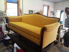 Antique Couch Recovered
