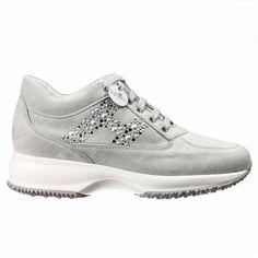 Sneakers Hogan Donna | Sneakers interactive h borchie camoscio | HOGAN hxw00n0q050 cr0 - Giglio Moda Online