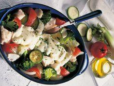 Rezept Gemüse-Fisch-Auflauf mit Käse, unser Rezept Gemüse-Fisch-Auflauf mit Käse - gofeminin.de
