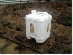 Poo-Free Self-Filling Duck Waterer