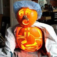 Surgery Themed Pumpkin Carving Amazing Pumpkin Carvings