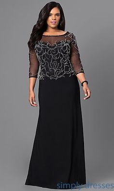Shop Simply Dresses for homecoming party dresses, 2015 prom dresses, evening gowns, cocktail dresses Plus Size Formal Dresses, Plus Size Gowns, Formal Gowns, Elegant Dresses, Casual Dresses, Fashion Dresses, Formal Prom, Prom Dresses 2015, Mob Dresses