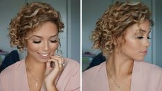 The messy updo. | 17 Really Cute Hairstyles For People With Naturally Curly Hair