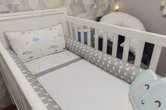 Personalizamos o enxoval deste quarto com a uauá baby!!!