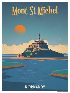 Image of Mont St. Michel Poster