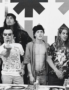 Red Hot Chili Peppers Mother's Milk era