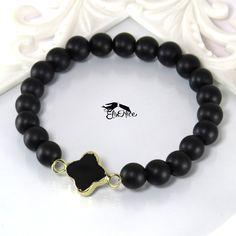 N diamond браслеты из натурального камня