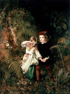 James Sant (1820 – 1916, English)  Hansel and Gretel