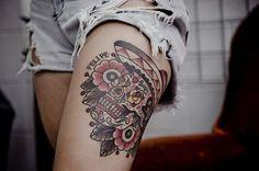 leg tattoo (10)