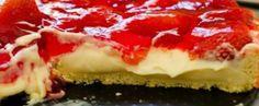 Receita de Torta de morango rapida