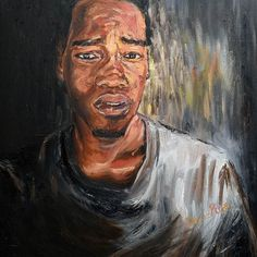 Was playing with the idea of light and dark. I was going for confusion. Very hard to get confusion and not sad.  #art #artwork #painting #man #paint #figurative #portrait #color #colour  #create  #creative #artist #oilpainting #oiloncanvas #instadraw #instaartist #love  #illustration #decor #wallart #artstagram #instaart #instagood