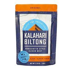Biltong -- Zero Sugar, Air Dried Beef - Gluten Free - 2 oz - 1 Pack (Original) - Real Keto Market keto ketogenic diet