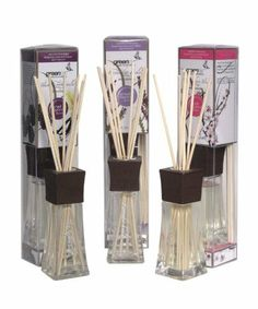 Greenair All Natural Aromatherapy Reed Diffuser, Vanilla Rasberry, Lavender Fields and Cherry Blossom, Set of 3 by Greenair. $15.26. Weighs 2.2 ounce. Phthalate free-all natural fragrance oils; No synthetics or chemicals. Lasts up to 90 days. All Natural Aromatherapy Reed Diffuser have all natural fragrance oils that are phthalate free. They are perfect for any room-bathroom, kitchen, dorm room, pet room.
