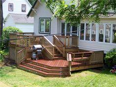 Multi Level Deck Designs Multi Level Deck Ideas Shapwee