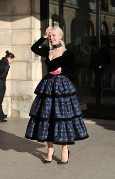 All the best Street Style from Haute Couture Paris by Lee Oliveira – Part 1