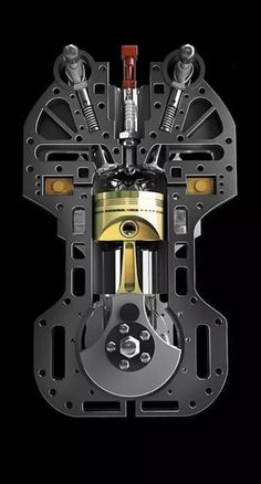 - picture for you Motor Engine, Car Engine, Mechanical Design, Mechanical Engineering, Engine Working, Automotive Engineering, Mechanic Tools, Race Engines, Combustion Engine
