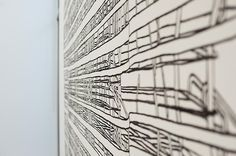 Founded by María Inés Sicardi in Sicardi Black And White Canvas, Contemporary Artists, Im Not Perfect, Art Gallery, Abstract, Architecture, Drawings, Little Cottages, Summary