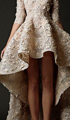 KriKor Jabotian Haute Couture Fall-Winter 2014 Wedding Dress