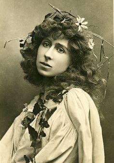 Mrs. Benson as Ophelia