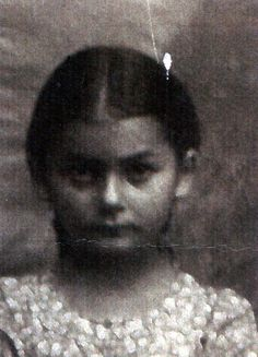 (1933) Bialystok, Poland (1942) sadly murdered at Treblinka Extermination camp 9 years old