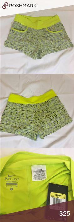 Nike dri-fit shorts S NWT lime grey NWT Nike Shorts