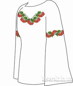 Льняная белая женская вышиванка СВЖБ-24