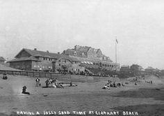 Gearhart Beach, Oregon Beach and Lodge Photograph 1913