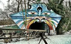 This is Spreepark in Berlin, Germany. | 23 Haunting Photos Of An Abandoned German Amusement Park