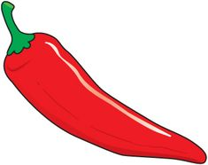 chili peppers how hot is your anger 1 chili pepper 2 chili rh pinterest com green pepper clipart pepper clip art free