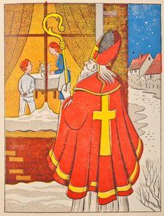 Als St. Nicolaas jarig Is.