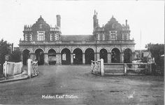 Maldon East Station - Burnham resident Michael Head has shared some old snaps of both Maldon and Burnham. On Maldon & Burnham Standard website.