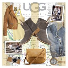 """""""On the Road with UGG: Contest Entry"""" by katjuncica ❤ liked on Polyvore featuring B&O Play, A.P.C., UGG Australia, Patagonia, Barbara Bui, Hermès, Antik Batik and uggaustralia"""