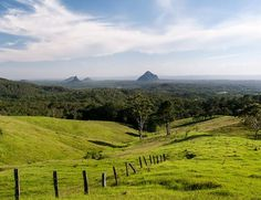 Maleny, QLD Australia Glasshouse Mountains, Close To Home, Sunshine Coast, Australia Travel, Canoe, Us Travel, Farms, Futuristic, Places To See