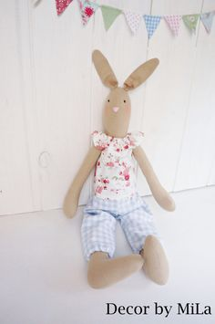 Bunny, Vintage, Handicrafts, Home decor, Gift, Easter by DecorbyMiLa on Etsy https://www.etsy.com/listing/507120498/bunny-vintage-handicrafts-home-decor