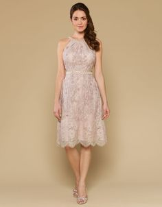 Effie Dress | Nude | Monsoon