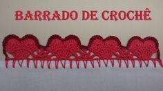 Barradinho de Crochê Fácil de Fazer # Coracão