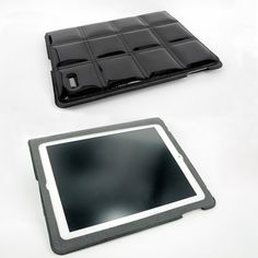 iPad 3, 2 Padded Case [£19.95] Leather Case, Ipad, Black, Black People, All Black, Leather Pouch