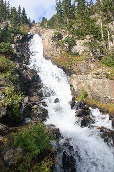 Continental Falls on the Mohawk Lake Trail in Breckenridge CO