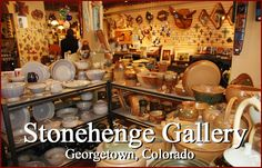 Stonehenge Gallery features Colorado artists specializing in pottery, glass and wood. Alice Selby, owner of Stonehenge Gallery, finds the finest quality and most unique art from the Colorado regions and the west.  Call: 303-569-2153