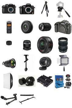 """My latest #kit: """"#Filmmaker video gear"""""""