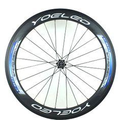 YOELEO U Shape C60-25 Blue Clincher Road Racing Wheelset