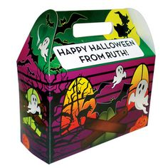 Haunted House Treat Box